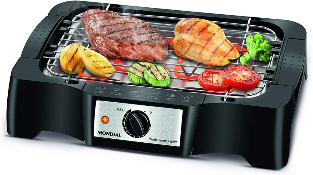 Churrasqueira Elétrica Pratc Steak & Grill, Mondial, CH-07