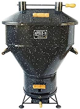 Churrasqueira Apolo 9 a Bafo Gás ou Carvão Esmaltada